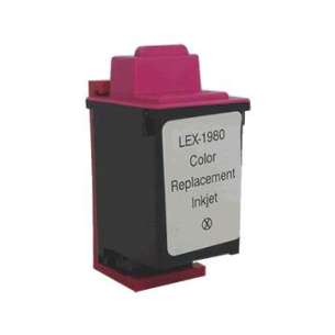 Remanufactured Lexmark 12A1980 (#80 ink) inkjet cartridge - color cartridge