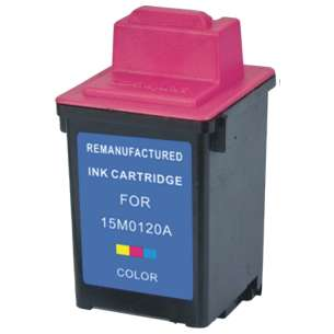 Remanufactured Lexmark 15M0120 (#20 ink) inkjet cartridge - color cartridge