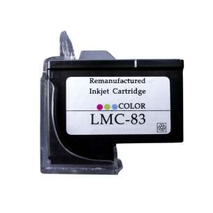 Remanufactured Lexmark 18L0042 (#83 ink) inkjet cartridge - color cartridge