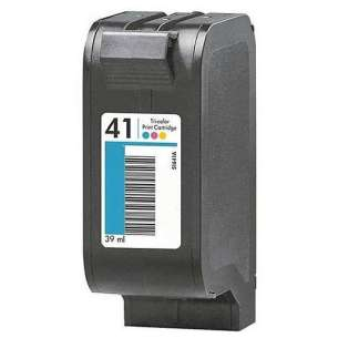Remanufactured HP 51641A (HP 41 ink) inkjet cartridge - color cartridge