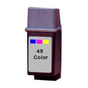 Remanufactured HP 51649A (HP 49 ink) inkjet cartridge - color cartridge