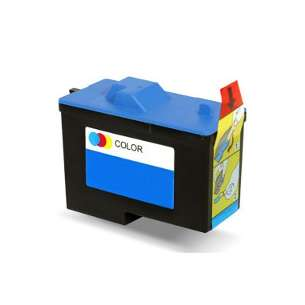 Remanufactured Dell 7Y745 (Series 2 ink) inkjet cartridge - color cartridge
