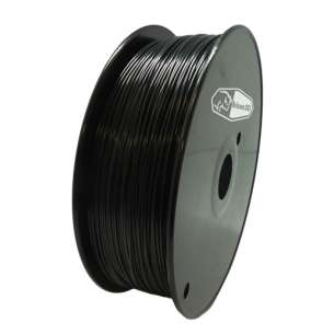 3D Filament (Bison3D brand) for 3D Printing, 1.75mm, 1kg/roll, Black (ABS)