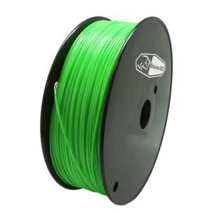 3D Filament (Bison3D brand) for 3D Printing, 1.75mm, 1kg/roll, Green (ABS)