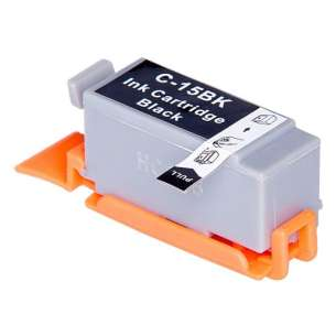 Compatible ink cartridge to replace Canon BCI-15Bk - black cartridge