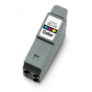 Compatible ink cartridge to replace Canon BCI-24C - color cartridge
