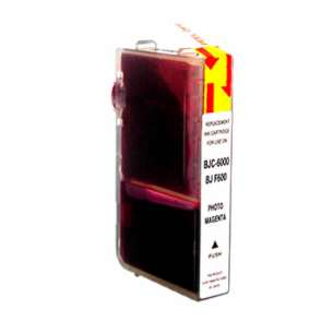 Compatible ink cartridge to replace Canon BCI-3ePM - photo magenta