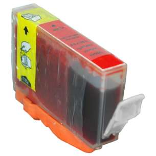 Compatible ink cartridge to replace Canon BCI-6R - red