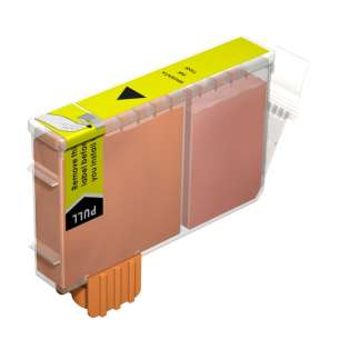 Compatible ink cartridge to replace Canon BCI-6Y - yellow