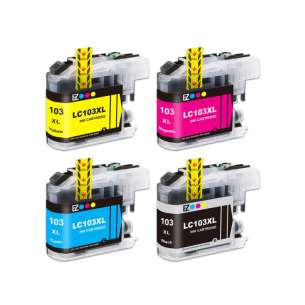 Compatible inkjet cartridges Multipack for Brother LC103 - 4 pack