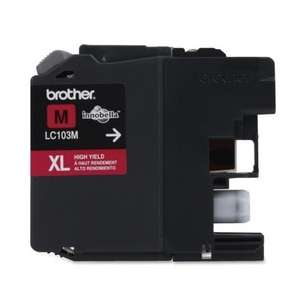 OEM Genuine Brother LC103M inkjet cartridge - magenta