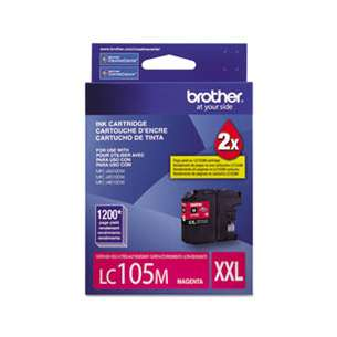 OEM Genuine Brother LC105M inkjet cartridge - magenta