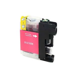 Compatible ink cartridge to replace Brother LC105M - super high yield magenta