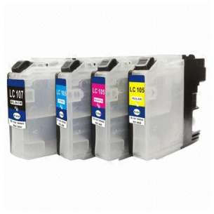 Compatible inkjet cartridges Multipack for Brother LC107 / LC105 - 4 pack