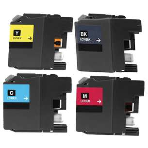 Compatible inkjet cartridges Multipack for Brother LC10E - 4 pack