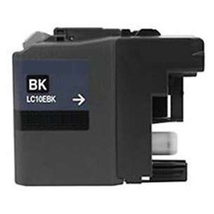 Compatible ink cartridge to replace Brother LC10EBK - super high yield black