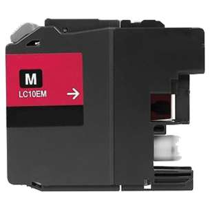 Compatible ink cartridge to replace Brother LC10EM - super high yield magenta