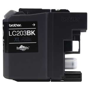 OEM Genuine Brother LC203BK inkjet cartridge - high yield black