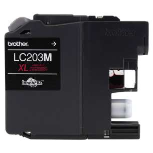 OEM Genuine Brother LC203M inkjet cartridge - high yield magenta