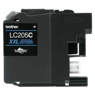 OEM Genuine Brother LC205C inkjet cartridge - super high yield cyan