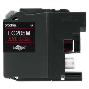 OEM Genuine Brother LC205M inkjet cartridge - super high yield magenta