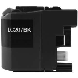 Compatible ink cartridge to replace Brother LC207BK - super high yield black