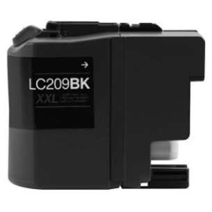 Compatible ink cartridge to replace Brother LC209BK - super high yield black