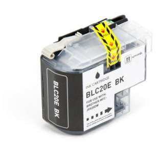 Compatible ink cartridge to replace Brother LC20EBK - super high yield black