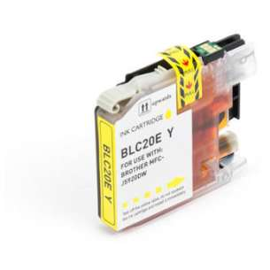 Compatible ink cartridge to replace Brother LC20EY - super high yield yellow