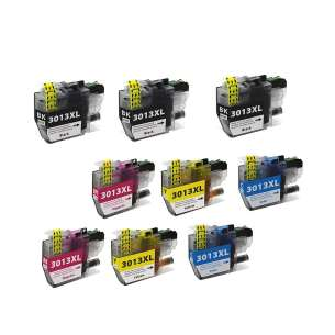Compatible inkjet cartridges Multipack for Brother LC3013 - 9 pack