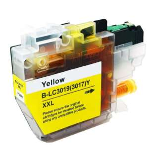 Compatible inkjet cartridge for Brother LC3019Y - super high yield yellow