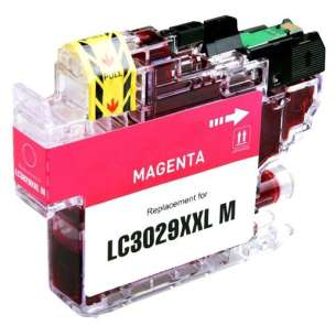 Compatible inkjet cartridge for Brother LC3029M - super high yield magenta