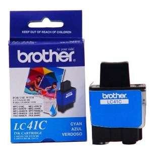 OEM Genuine Brother LC41C inkjet cartridge - cyan