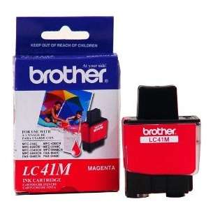OEM Genuine Brother LC41M inkjet cartridge - magenta