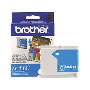 OEM Genuine Brother LC51C inkjet cartridge - cyan