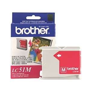 OEM Genuine Brother LC51M inkjet cartridge - magenta