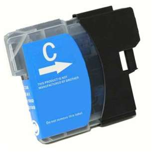 Compatible ink cartridge to replace Brother LC61C - cyan
