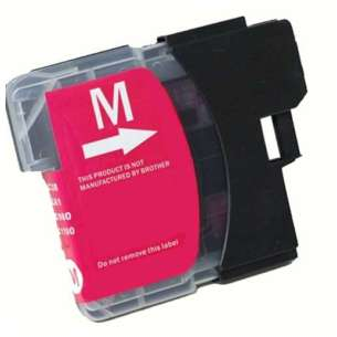 Compatible ink cartridge to replace Brother LC61M - magenta