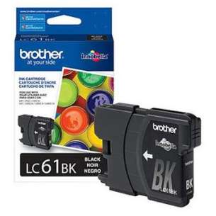 OEM Genuine Brother LC61BK inkjet cartridge - black cartridge