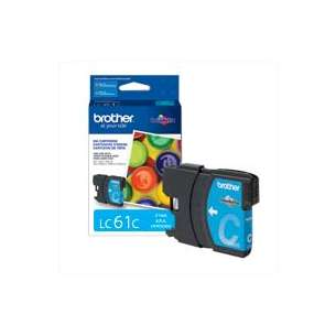 OEM Genuine Brother LC61C inkjet cartridge - cyan