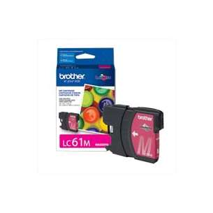 OEM Genuine Brother LC61M inkjet cartridge - magenta