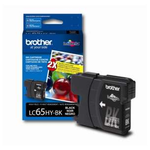 OEM Genuine Brother LC65BK inkjet cartridge - black cartridge