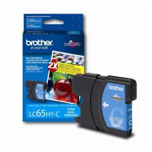 OEM Genuine Brother LC65C inkjet cartridge - cyan