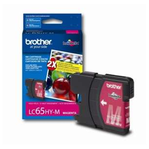 OEM Genuine Brother LC65M inkjet cartridge - magenta