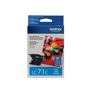 OEM Genuine Brother LC71C inkjet cartridge - cyan