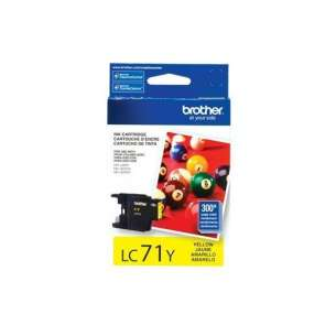 OEM Genuine Brother LC71Y inkjet cartridge - yellow