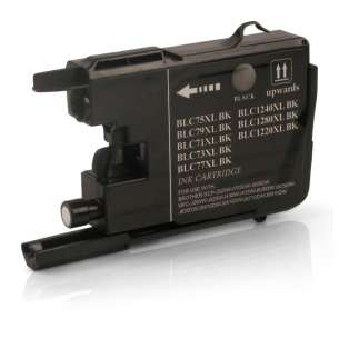 Compatible ink cartridge to replace Brother LC75BK - black cartridge