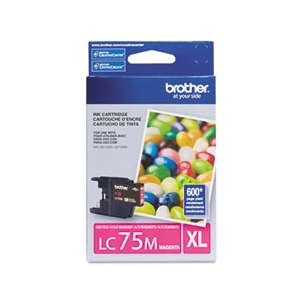 OEM Genuine Brother LC75M inkjet cartridge - magenta
