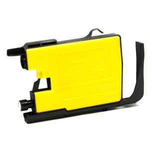 Compatible ink cartridge to replace Brother LC75Y - yellow