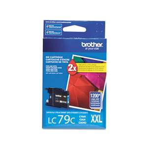 OEM Genuine Brother LC79C inkjet cartridge - cyan